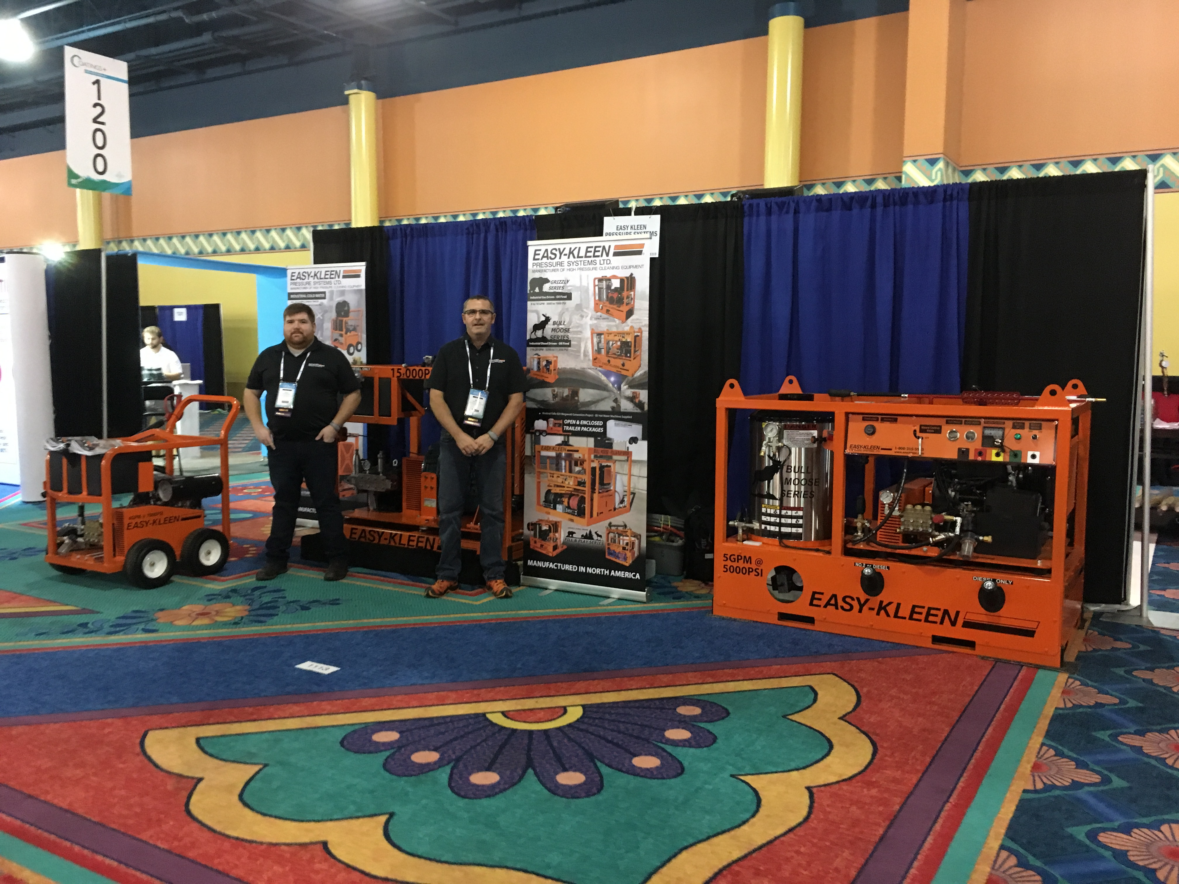 Easy Kleen Trade Show Booths